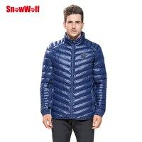 SNOWWOLF с подогревом зимняя куртка Открытый Для мужчин ветровка мужской ветрозащитный черный Термальность пальто для кемпинга Рыбалка Охота