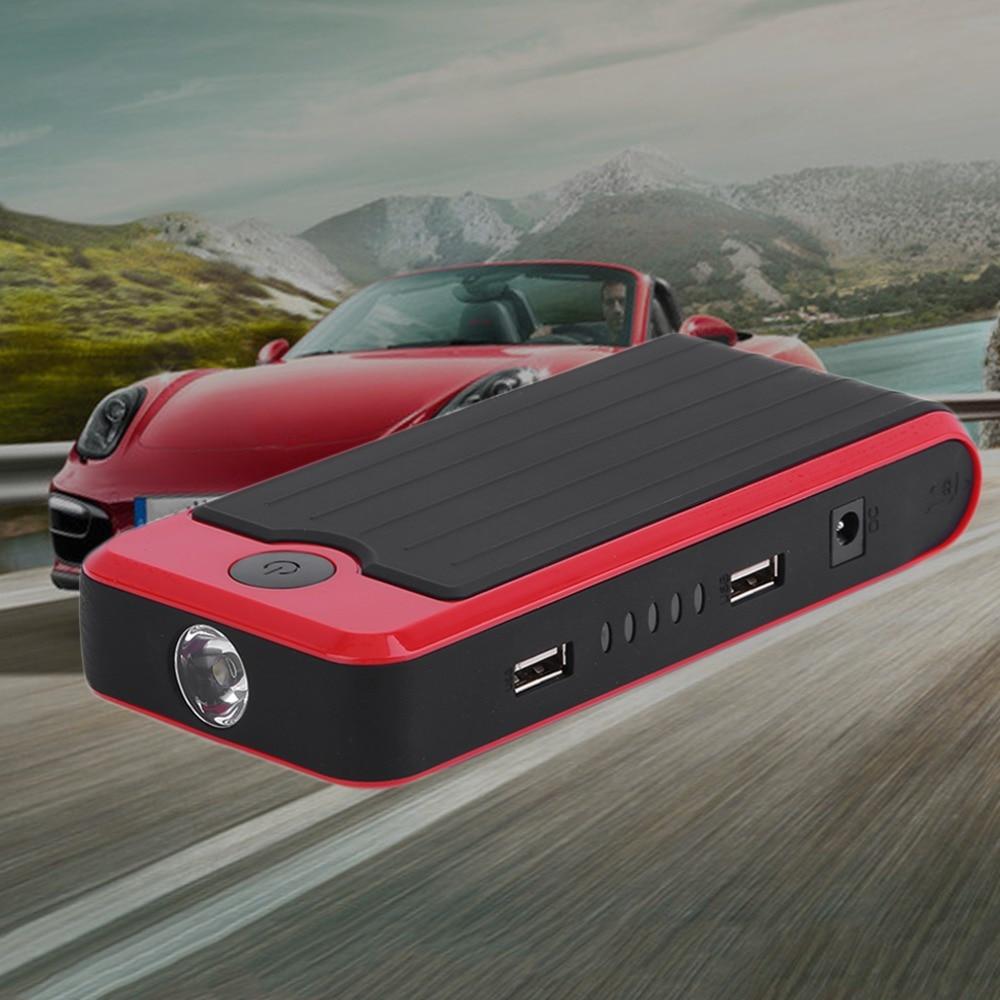 Nouveau Nouveau 50800 mah Portable Mini Taille Automatique Puissance Banque Batterie Véhicule D'urgence Chargeur De Voiture Jump Starter Booster Rouge - 2