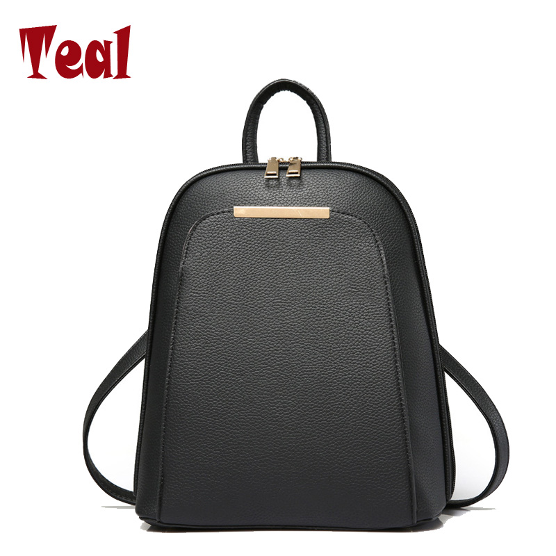 women s backpack Bag ladies leather small backpack laptop backpack school for girls school bags for