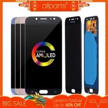 Oryginalny wyświetlacz LCD AMOLED dla SAMSUNG Galaxy J7 Pro Display i Touch J730 J730F OLED do wymiany ekranu LCD SAMSUNG J7 Pro 2 tanie tanio SM-j730f j730gm SM-j730 j730g 1920x1080 3 Nowy Ekran pojemnościowy 5 5 cala J7 Pro 2017 J730 J730F J730FM J730GM Wymiana ekranu AMOLED