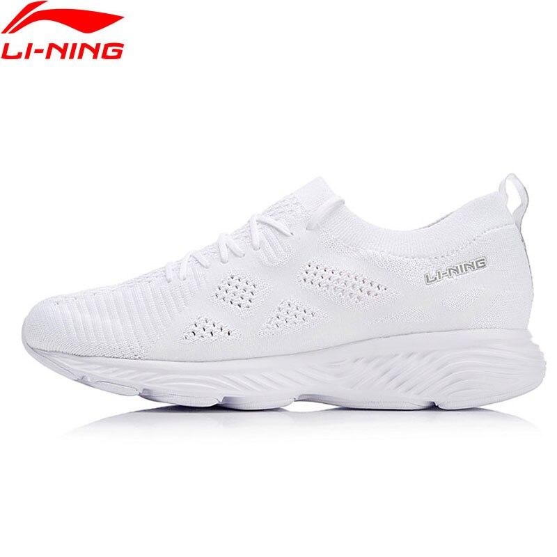 Li Ning Women LN CLOUD III 2018 Running Shoes Wearable Mono Yarn LiNing Cushion Sport Shoes
