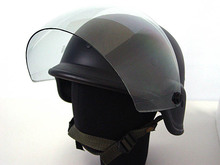 2 colors Airsoft Tactical Army SWAT M88 Helmet USMC Shooting Classic Protective PASGT Helmet Black/OD with Clear Visor