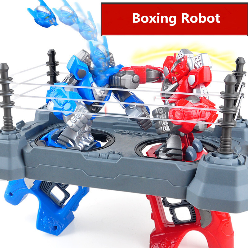 2pcs RC battle robot &2 players PK Mode/Remote Control RC VS Fighting Robot boxing Robot toys for children men Boxing Ring mini drone rc helicopter quadrocopter headless model drons remote control toys for kids dron copter vs jjrc h36 rc drone hobbies