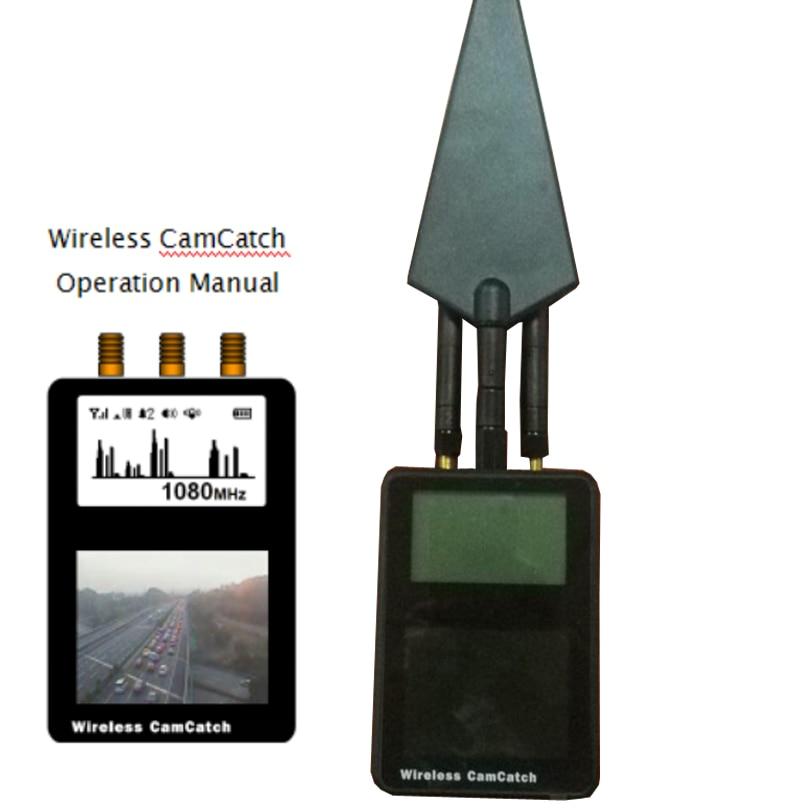 0.2 6G detector wireless camera finder camera scanner+detector micro wave finder bug signal finder Anti Candid Camera Detector