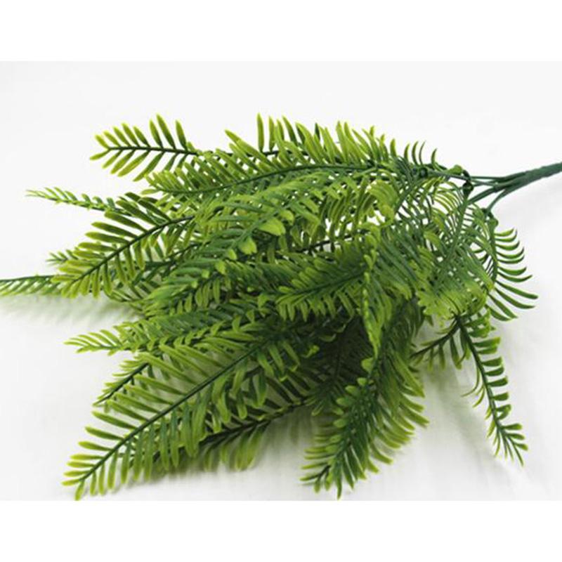 Artificial Flower Leaves Plants Pretty Fake Lifelike Plastic Persian Grass Lysimachia Fern floral decoration Home Garden