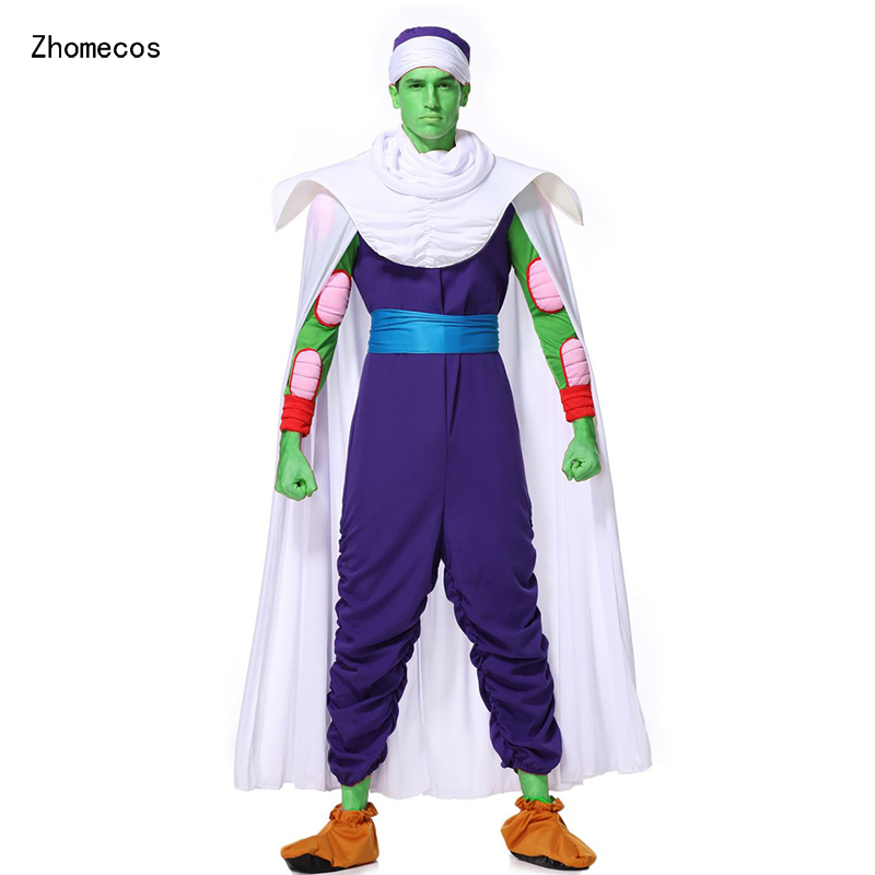 Zhomecos Amine Dragon Ball Piccolo Cosplay Costume ensemble complet Costumes pour homme fantaisie Cosplay fête