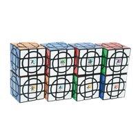 8 шт. планета/комплект MF8 Сумасшедший 3x3 Plus Cube Black Magic Cube Головоломки восемь планет коллектора подарок Идея ограниченная версия