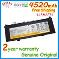 new genuine L13M6P71 battery for lenovo IdeaPad Yoga 2 13 Series L13S6P71 11.1V 50Wh 4520mah original batteries