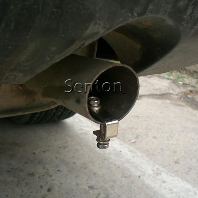 Car Turbo Sound Whistle Simulator Exhaust Pipe For Audi A3 A4 B6 B8 B7 B5 A6 C5 C6 Q5 A5 Q7 TT A1 S3 <font><b>Volvo</b></font> XC60 S60 S40 <font><b>V40</b></font> V60 image