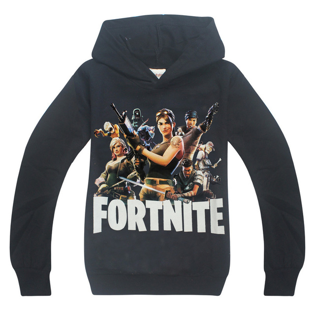 d9ba8c23d20 Fortnite Kids Long Sleeve T-Shirt 6-14 Large Boy Sweatshirt Hooded T-Shirt  Girls Sweatshirt 2018 Spring Boys Girls Cotton Hoodie
