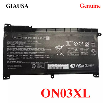 GIAUSA Genuine ON03XL battery for HP Pavilion X360 13-U 13-U140TU HSTNN-LB7P TPN-W118 TPN-Q183 L43267-005 915230-421 HSN-I08C 1