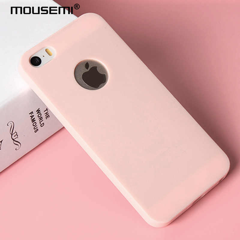 2681ddf51bc MOUSEMI Soft Phone Cases For iPhone 5s 5 se Soft Tpu Case Cover For Apple  iPhone