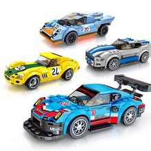 New Technic City Super Racers Speed Supercar Racing car For children Christmas gift Compatible With Legoings car(China)