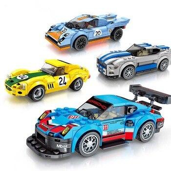 Nuova Tecnica City Super Racers Velocità Supercar auto Da Corsa Building Blocks Giocattoli Dei Mattoni Per i bambini I Regali Di Natale