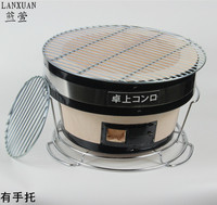 Japanese style teriyaki Yakiniku barbecue charcoal oven roast meat clay oven home BBQ grill outdoor portable charbroiler
