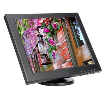12 inch touch screen highlight monitor POS Cashier monitor with AV/BNC/VGA/HDMI/USB interface