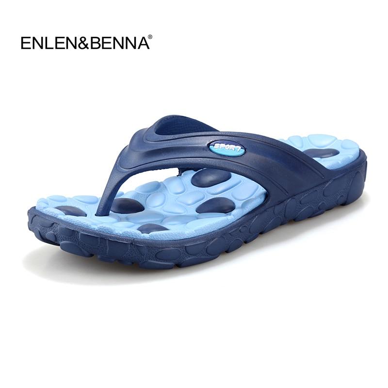 2015 New Summer Men Casual Flat Sandals, Leisure Soft Flip Flops,Rubber Massage Beach Slipper Shoes For Men Size 39-44 3colors