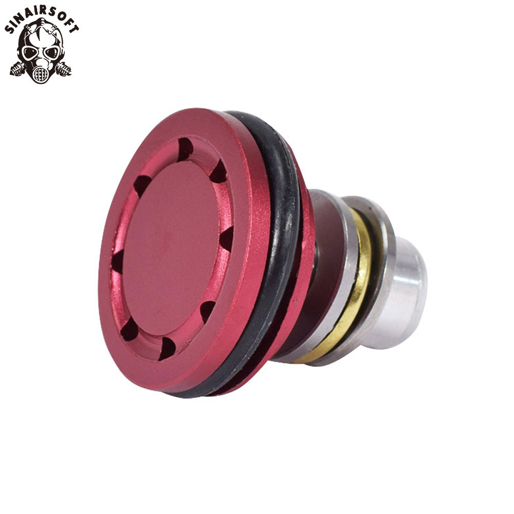 SINAIRSOFT Ball Bearing Piston Head 8 Holes (High-End Version) For Ver.2/3 Airsoft AEG Gearbox (new Type) Gun Accessories