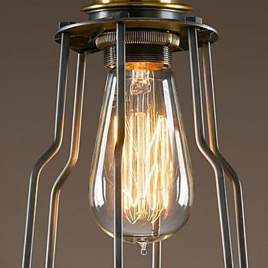 Europski stil Retro Vintage Edison stropna svjetiljka potkrovlje - Unutarnja rasvjeta - Foto 3