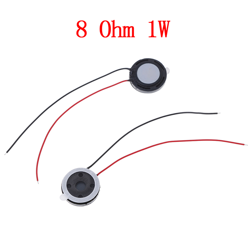 2pcs 15mm Round Magnet Magnetic Tweeter Speaker Horn 8 Ohm 1w Speaker Accessories To Be Distributed All Over The World