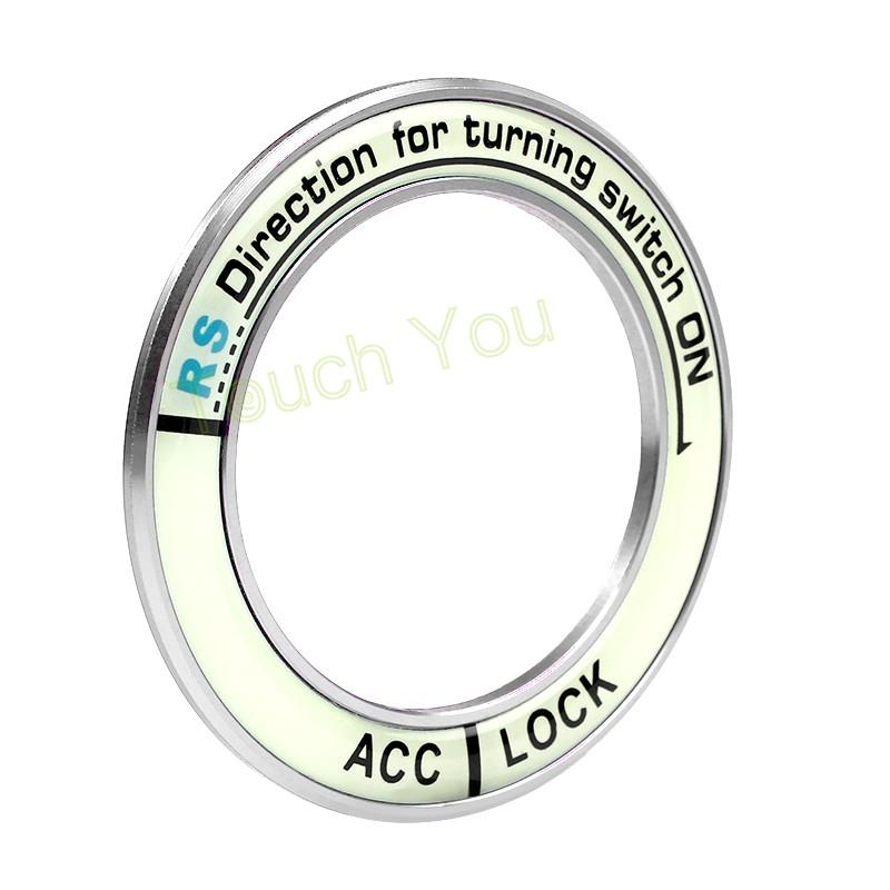 HTB1OvtgKVXXXXX6XFXXq6xXFXXXd - Luminous Alloy Car Ignition Switch Cover Auto Accessories Car Stickers Circle Light Decoration For TOYOTA COROLLA LEVIN Motor