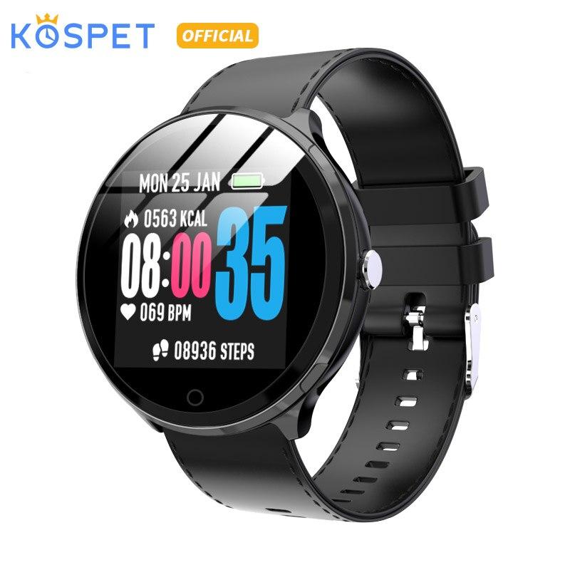 "KOSPET V12 IP67 Waterproof Health Sleep Sports Heart Rate Bluetooth Smartwatch 1.3"" 180mAh Smart watch Men Women For IOS Android"