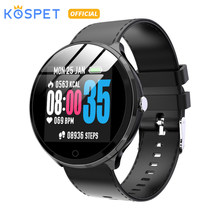 "KOSPET V12 IP67 Waterproof Health Sleep Sports Heart Rate Bluetooth Smartwatch 1.3"" 180mAh Smart watch Men Women For IOS Android(China)"