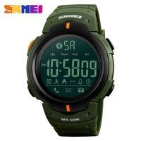 SKMEI 1301 גברים חכמים שעונים כרונו קלוריות מד צעדים רב פונקציות ספורט שעונים Relogios שעוני יד תזכורת דיגיטלי שעון