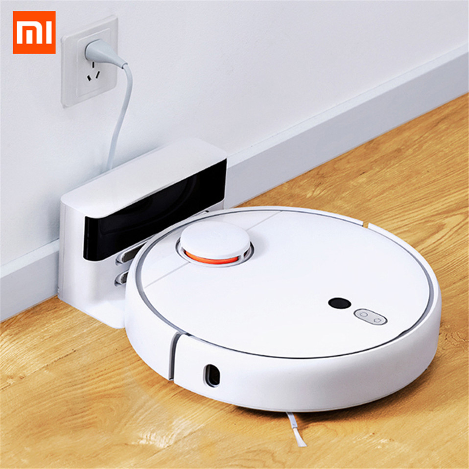 Original Xiaomi Mi Robot Vacuum Cleaner 1S For Home Automatic Sweeping Charge Smart Planned Cleaning Dust Cleaner APP Control  (5)_