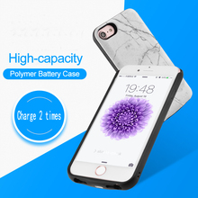 Marble Battery Charger Case For iPhone X 10 Ultra Slim Power Bank External Backup Pack Charging Battery Cover For iPhoneXS Max
