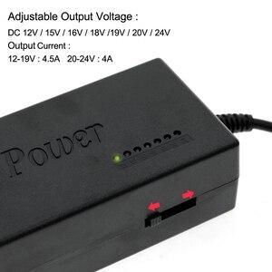 Image 3 - ספק כוח אוניברסלי מתאם AC95 265V קלט כדי DC12V/15V/16/18V/19V/20V/24V פלט רובוטריקים עם 8 חתיכות DC מחברים