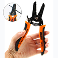 [Super Deal] JAKEMY JM - CT4 - 12 Wire Cutter Stripper Clamp 7.0 inch Plier Hardware Tool Electrical Multi-size  Bayonet Clamp