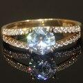 1 Carat 14k White Yellow Gold Engagement Ring CHARLES&COLVARD Brand Test Positive Lab Grown  Moissanite Diamond