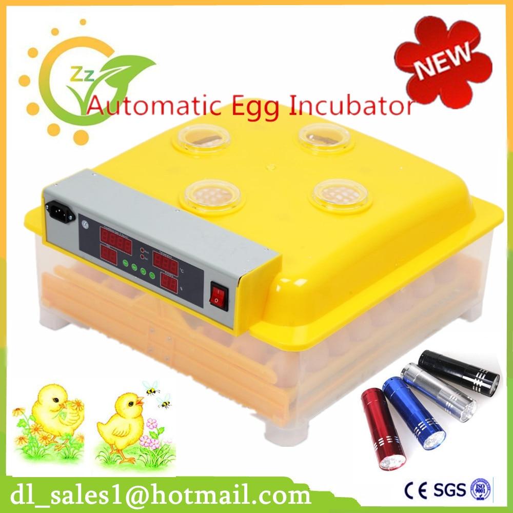 fully automatic egg incubator holding 48 chicken eggs cheap incubator DE stock