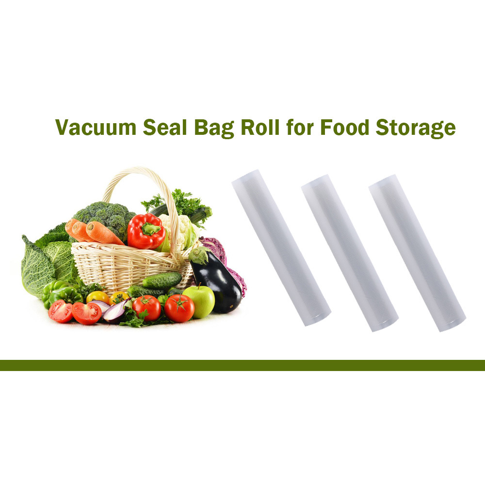 XinBaoLong Vacuum Seal Bags Roll for Food Storage 28cm x 500cm Household Saver Food Packaging Harmless Keep Food Fresh Bag compact space saver vacuum compressed seal storage bags 70 100cm 2 pack