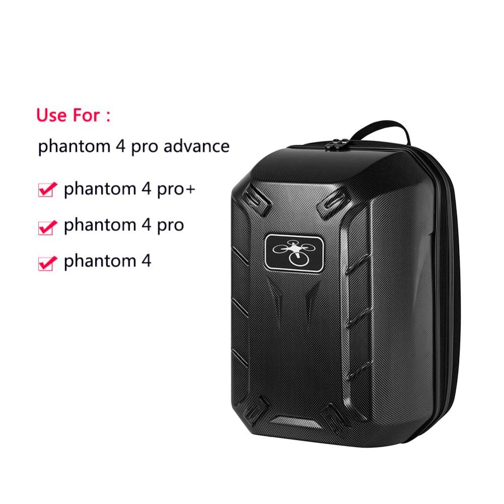 2017 Carbon Fiber Phantom 4 Hardshell Bag Backpack Shoulder Carry Case Box for DJI Phantom 4 Standard FPV Drone Quadcopter thinkthendo hot sell backpack shoulder bag carrying case for dji phantom 4 phantom 3 quadcopter drone