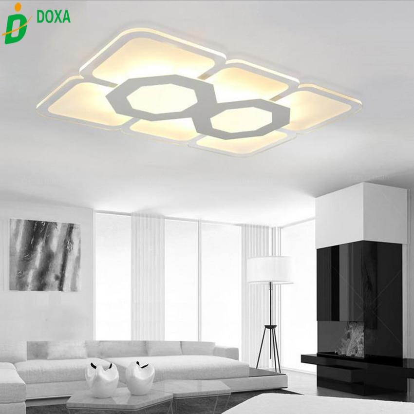 15 Ultra Modern Ceiling Designs For Your Master Bedroom: New Ultra Thin Modern Led Ceiling Lights For Living Room