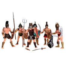 BOHS Medieval Rome Empire Arena Gladiator Soldiers Combatant Action Figures Toys(China)