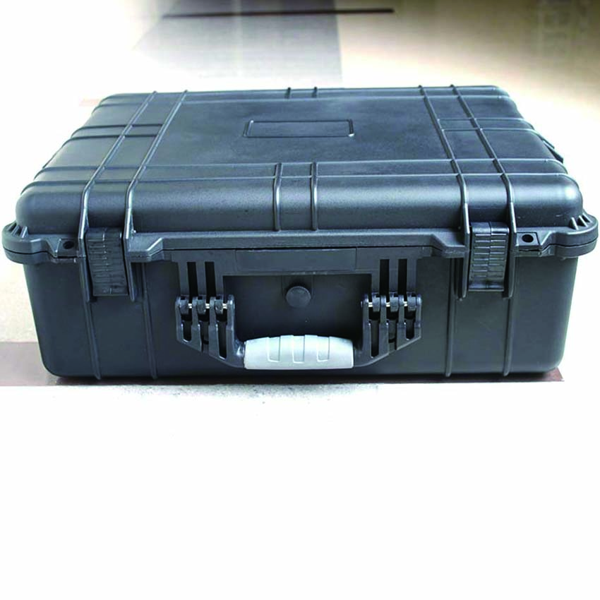 SQ6062 internal 544*419*200mm Black hard plastic dustproof waterproof case with foam цена