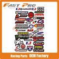 3M Decals Stickers Graphics For Motorcycle Pit Dirt Bike Motocross Enduro Supermoto Racing ATV Quad Monkey Dax Quad streetbike