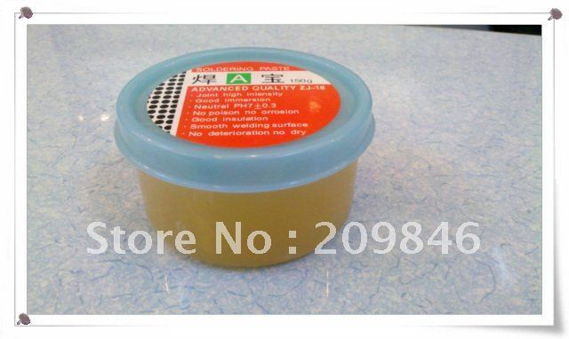 Free shipping 10pcs/lot 150g Flux Soldering Paste Grease Gel for BGA SMD HJ00001