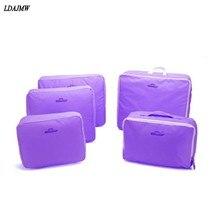 Multi-Funcional Portátil de Viaje Equipaje Maleta Ropa Interior Cubos de Embalaje contenedor Bolsa De Almacenamiento Organizador Bolsa