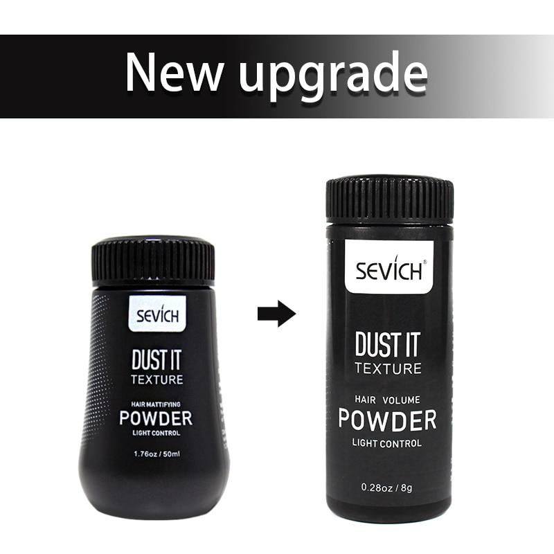 Sevich 8g Unisex Hairspray Best Dust It Hair Powder Mattifying Powder Finalize The Hair Design Styling Gel 3