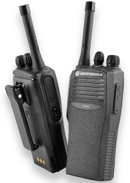 16 channel motorola handheld uhf vhf wireless walkie talkie CP040 without screen and display wood