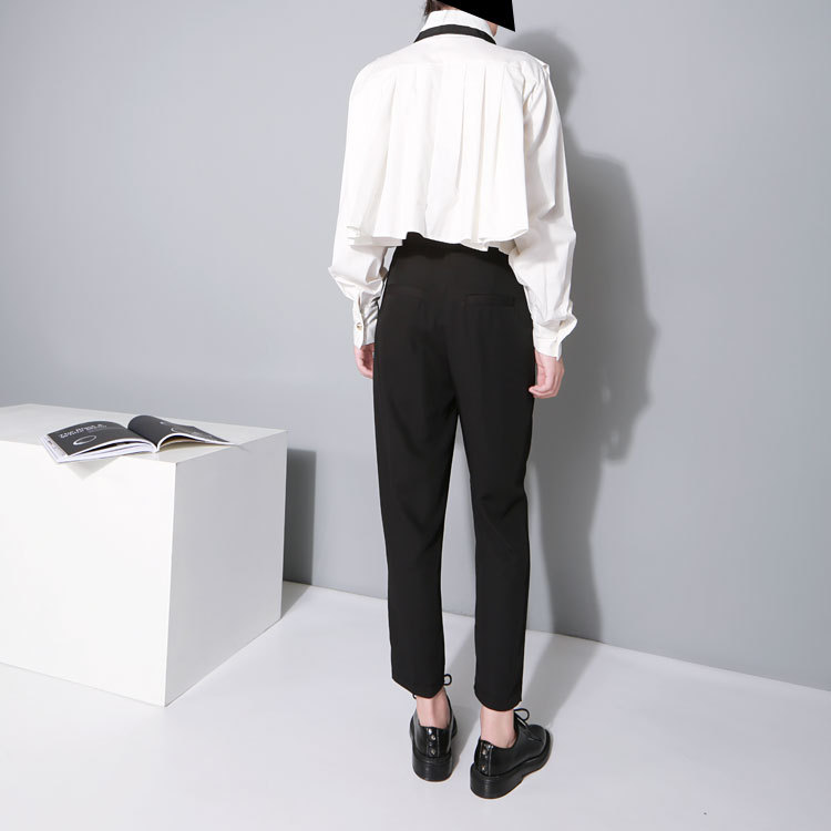 Cakucool Mujeres Sólido Casual Crop tops Blusa Loose Poncho Tops - Ropa de mujer - foto 5