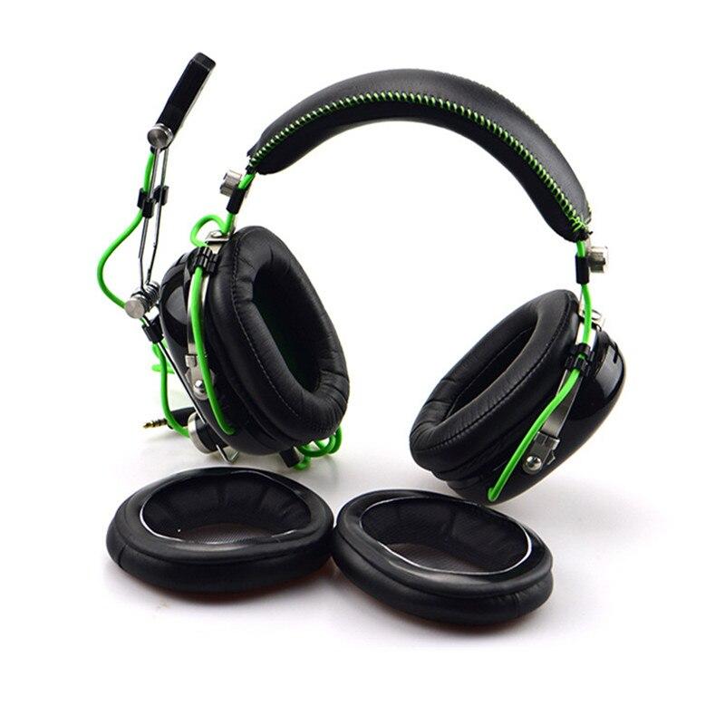 US $2 71 32% OFF|Foam Ear Pads Cushions for Razer BlackShark Kraken Pro  Headphones High Quality Protein Skin Earpad 11 1-in Earphone Accessories  from