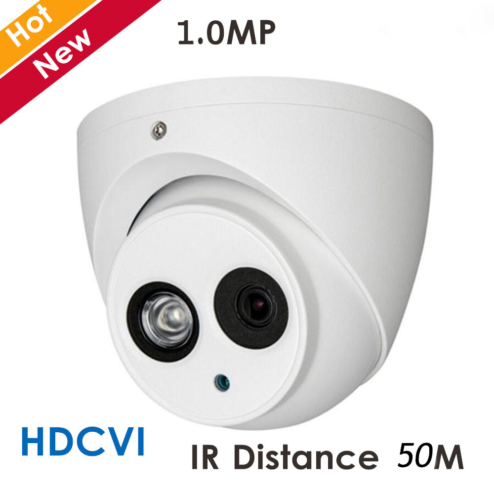 DH New HDCVI Camera DH-HAC-HDW1020E 1mp IR Distance 50M security cctv Dome Camera ip67 with Super Night Vision dahua outdoor indoor hdcvi camera dh hac hdw1100e 1mp hd network ir security cctv dome camera ir distance 40m hac hdw1100e ip67