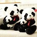 25 cm pequeño tamaño de la madre y el niño de la panda de Peluche Juguetes de dibujos animados oso de peluche de felpa muñeca de regalo de cumpleaños