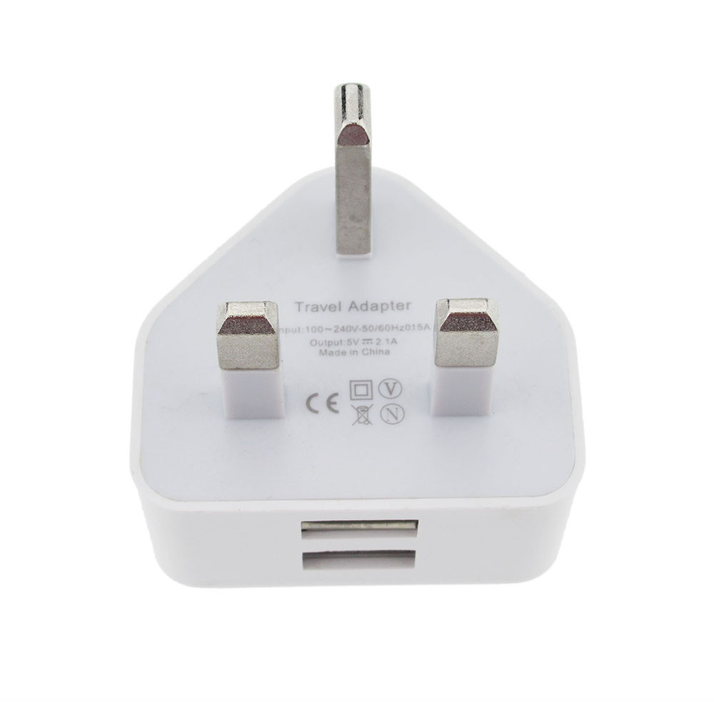Micro usb ladegerät QC 3,0 schnelle ladegerät 2a <font><b>uk</b></font> hub quick charge Ladegerät <font><b>3PIN</b></font> <font><b>UK</b></font> Stecker USB Port AC Power 2A Adapter Für Alle z7 image