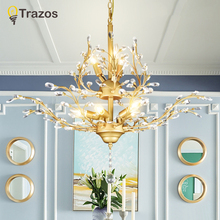Modern Lustre Led Crystal Chandelier Lighting Ceiling Chandeliers Light Lamparas De Techo Hanglamp Suspension Luminaire Lampen все цены